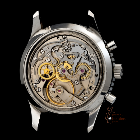 Zenith Calibre DP 146 - a calibre that was developed by Martel Replica Watch Co, taken over by Zenith in 1959