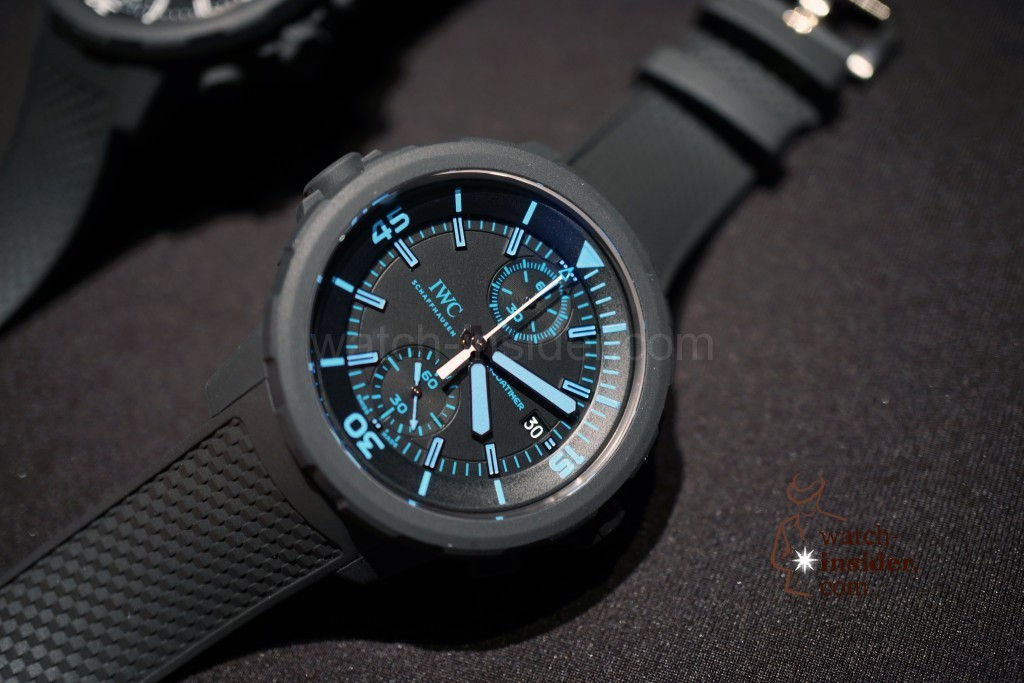 """IWC Aquatimer Chronograph Edition """"50 Years Science for Galapagos"""""""