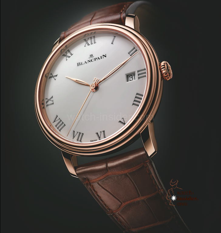 Blancpain - Villeret Collection Pre-Basel 2014 Ref: 6630-3631-55B