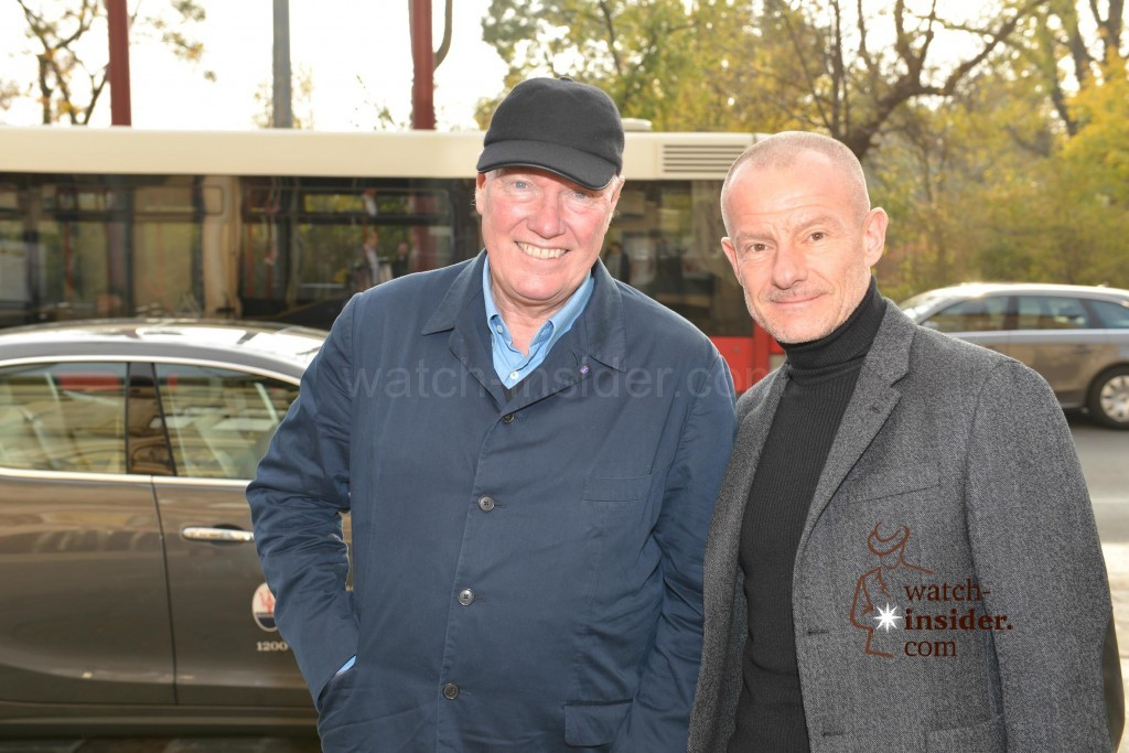 Jean-Claude Biver and Alexander Linz at Viennatime