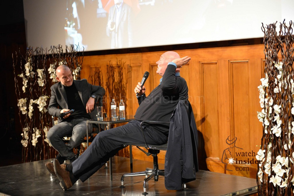 Panel discussion at Viennatime: Alexander Linz and Jean-Claude Biver