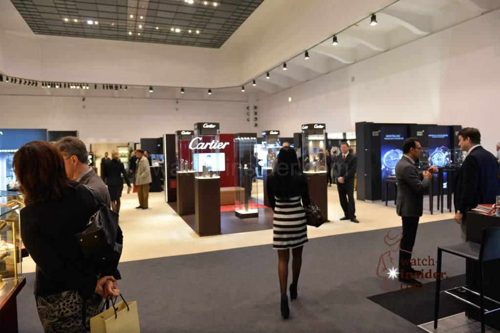 Cartier and many more brands exhibiting at Viennatime
