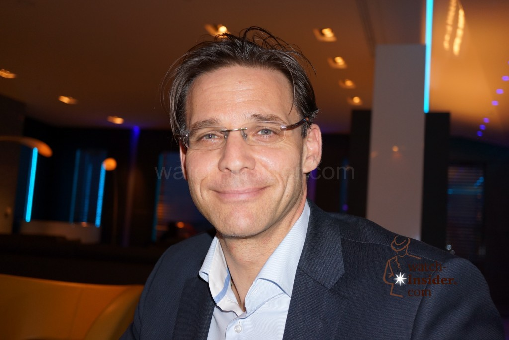 Alexander Schmiedt, Montblanc´s watch director