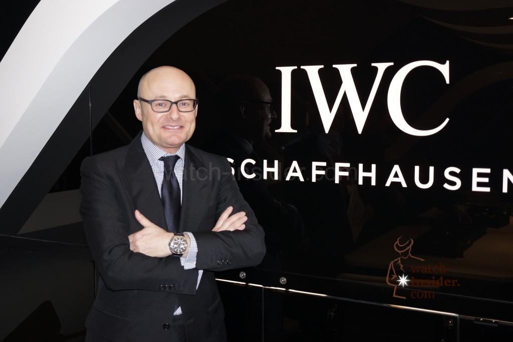 Georges Kern, CEO of IWC Schaffhausen.