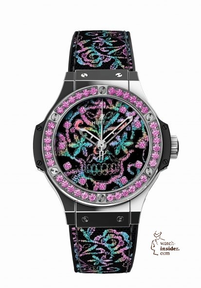 HUBLOT Big Bang Broderie Sugar Skull_13.400€