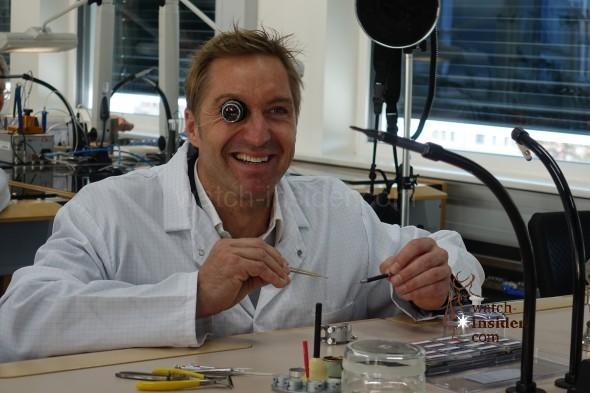 Hans Knauss, former Austrian Ski Racer