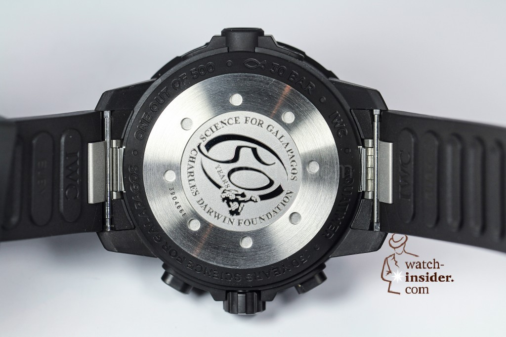 "IWC Aquatimer Chronograph Edition ""50 Years Science for Galapagos"""