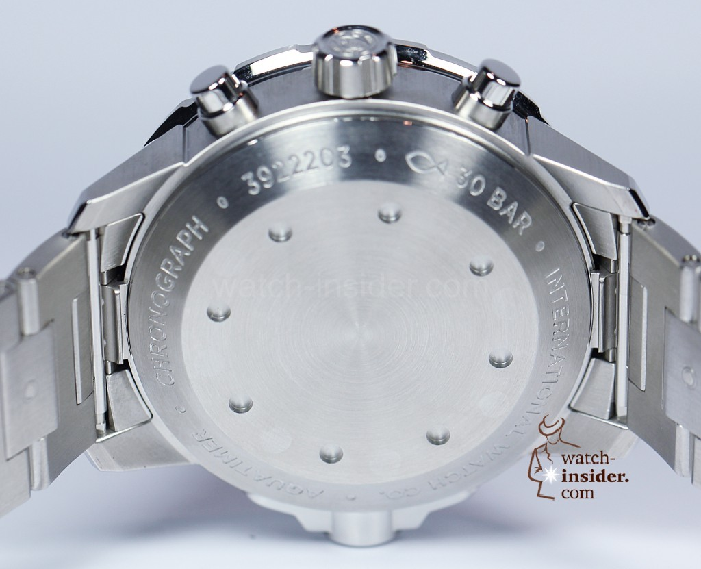 IWC Aquatimer Chronograph in stainless steel