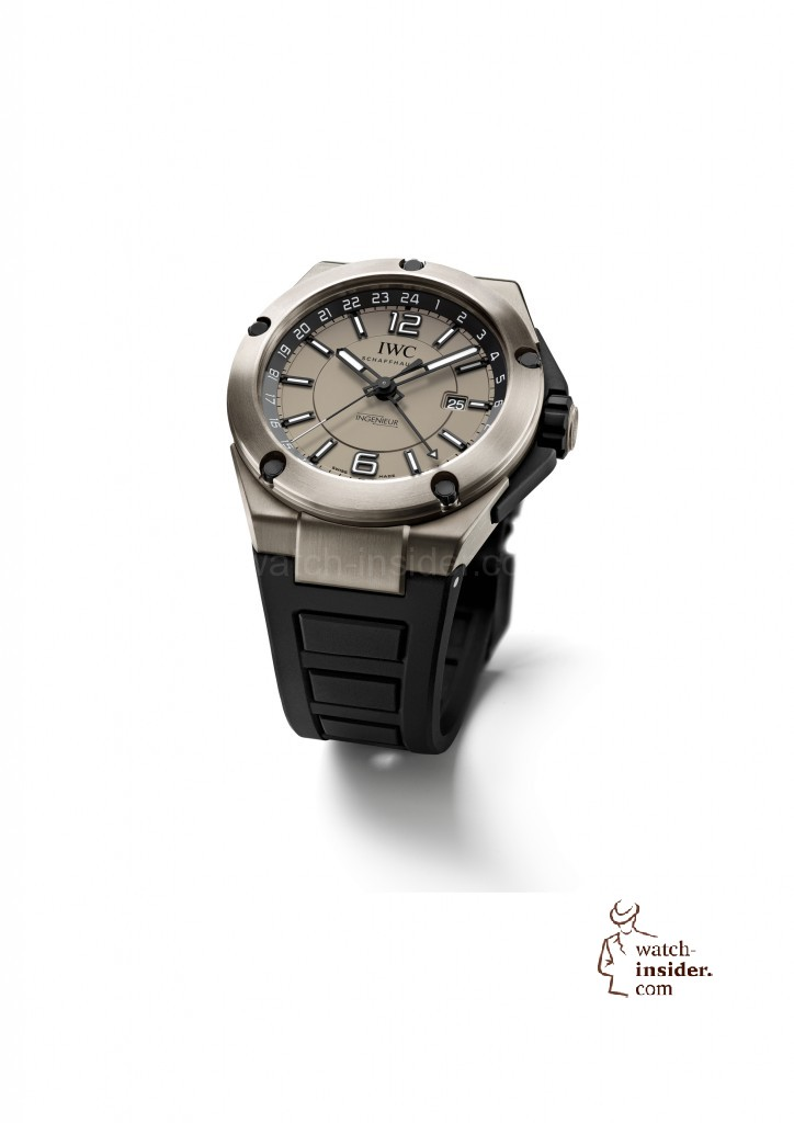 IWC Ingenieur-Dual-Time-Titanium from the year 2013