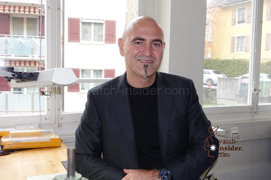Mark Hayek, CEO Blancpain, Breguet and Jaquet Droz and member of the Executive Group Management Board of Swatch Group.