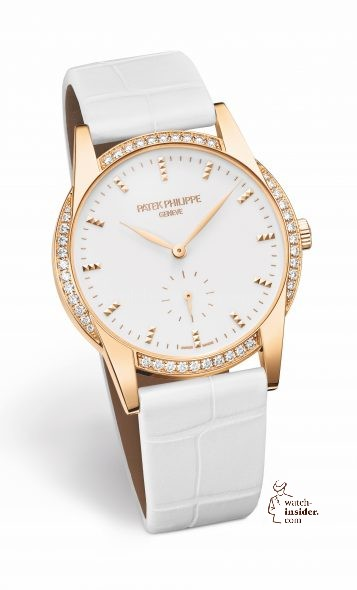 PATEK PHILIPPE Calatrava Timeless White Red Gold 24.690€