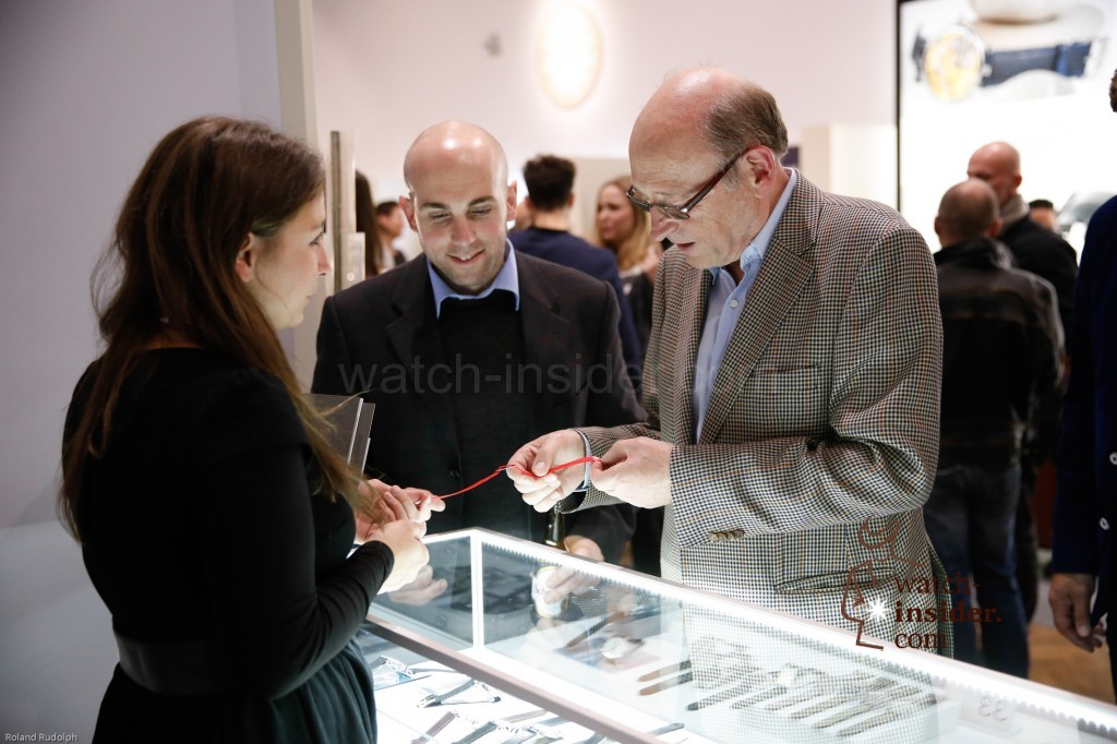 Watch aficionados at Viennatime