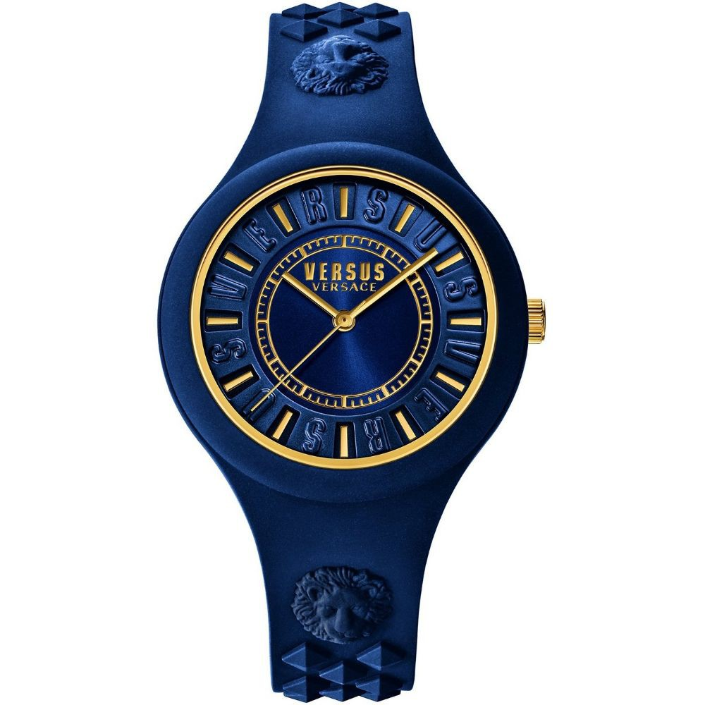 Versus Versace watch review unisex blue timepiece