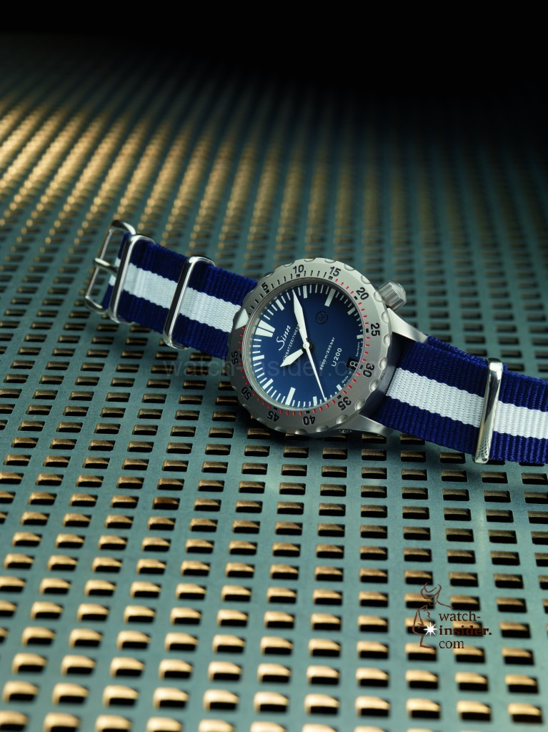 Sinn launches the diving replica watch U200 B (EZM 8), a special edition available for a limited time only