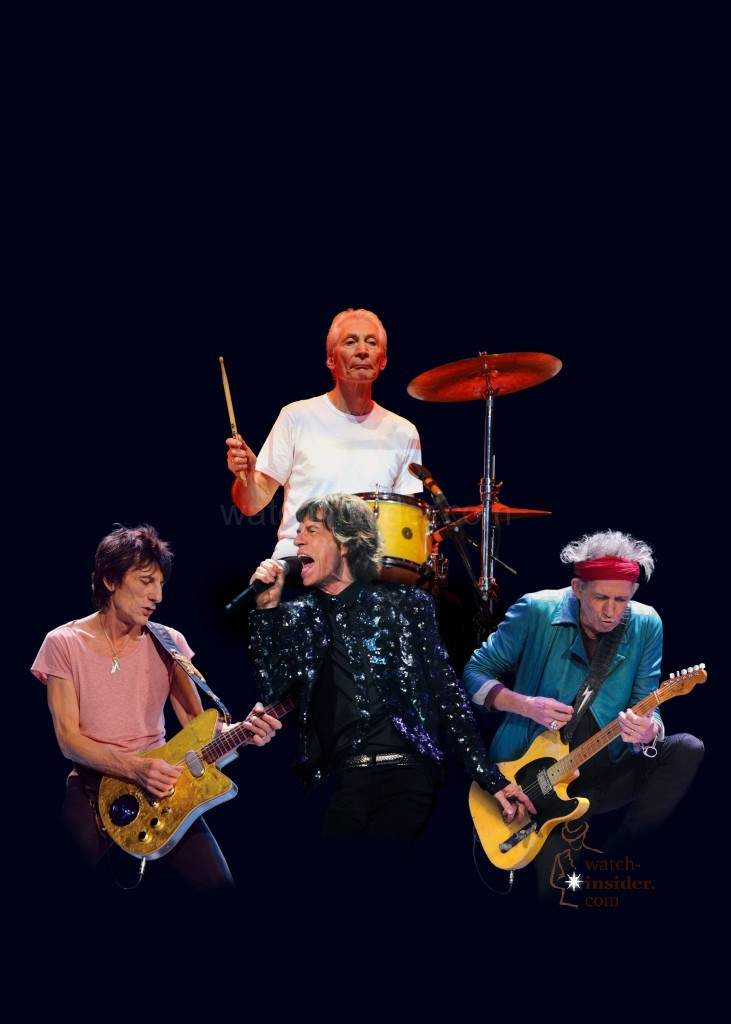 Zenith teams up with The Rolling Stones