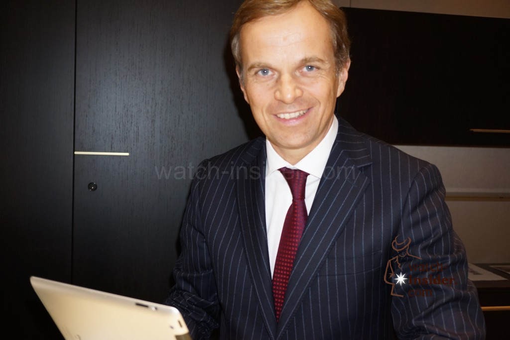 Baselworld 2014: Interview with Jean-Fred Dufour CEO Zenith