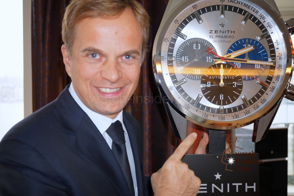 Zenith 2014 – exclusive pictures of first novelties and interview with CEO Jean-Frederic Dufour