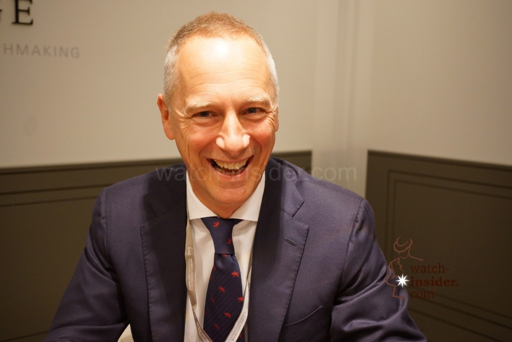 A. Lange  Söhne – Interview with CEO Wilhelm Schmid – SIHH 2015