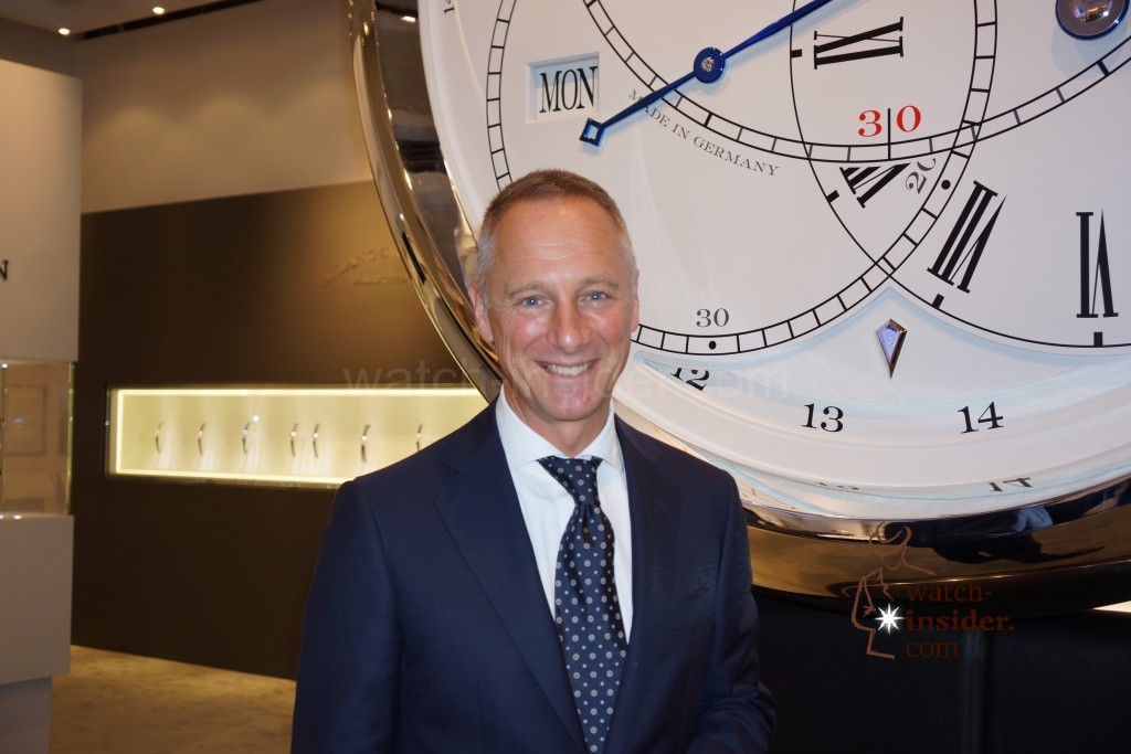 Live from Replica WatchesWonders 2014 in Hong Kong: Interview with A. Lange  Söhne CEO Wilhelm Schmid.