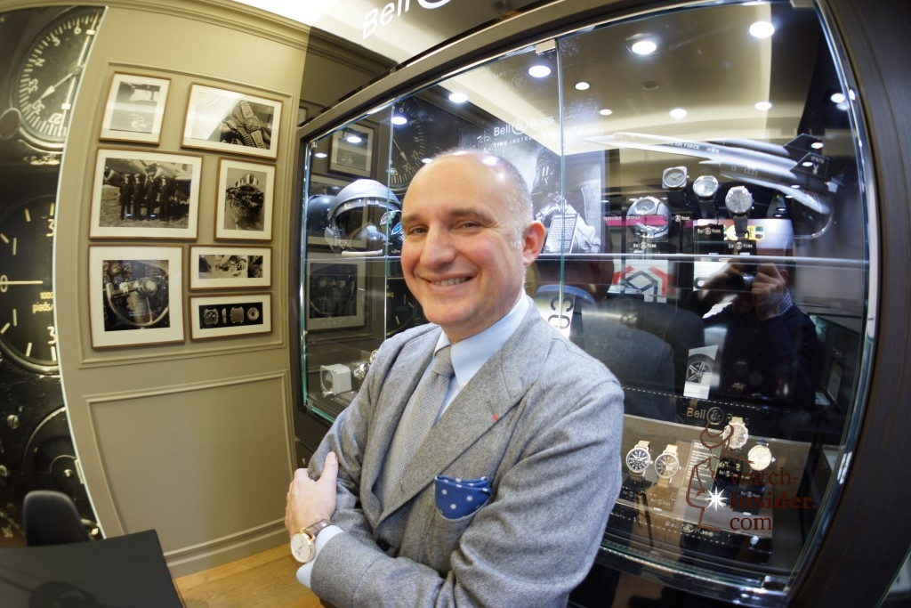 On the occasion of the official Bell  Ross boutique opening here in Vienna I talked to the brands president and co-owner Carlos A. Rosillo