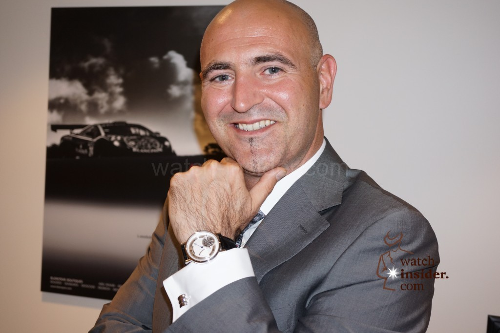 Baselworld 2014: Interview with Marc Hayek, CEO Blancpain and Breguet