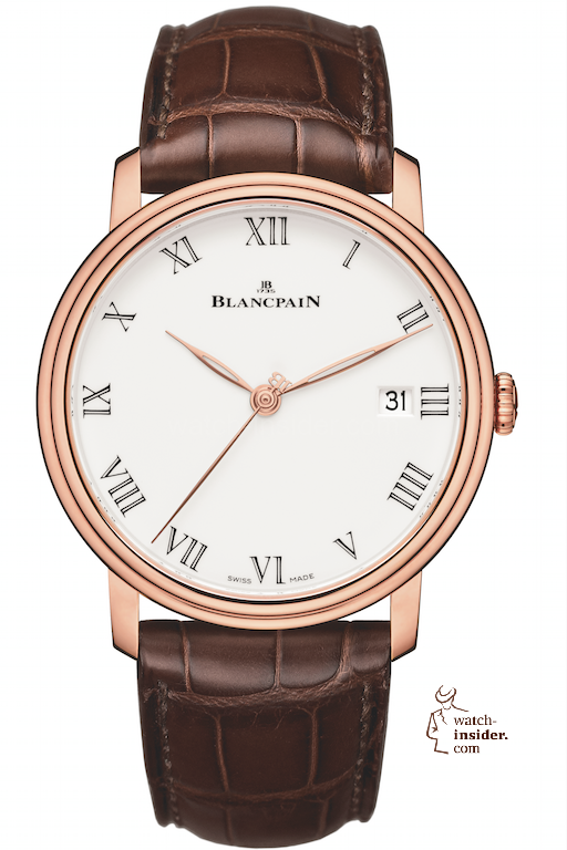 Pre-Baselworld 2014: A new Villeret model by Blancpain.