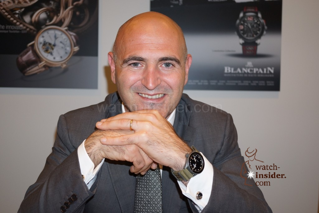 Baselworld 2013 … Marc Hayek presented me some of the novelties of Blancpain and Breguet