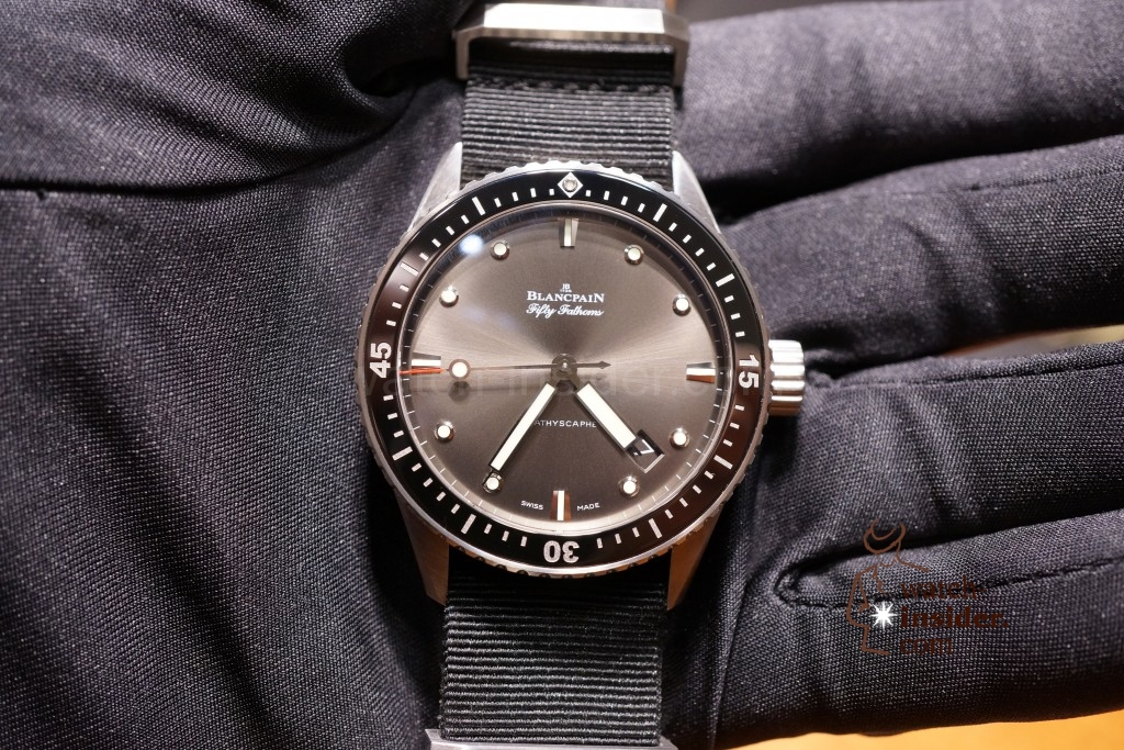 Baselworld 2013 … Additional pictures and information about the Blancpain novelties