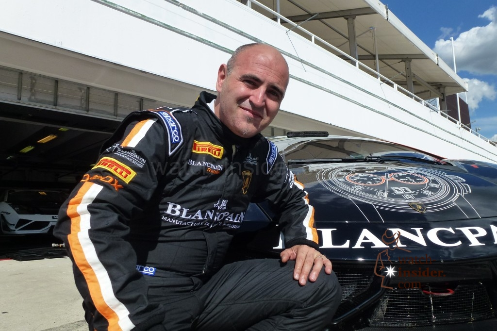 Sharing the passion for motorsports with Blancpain CEO Marc Hayek