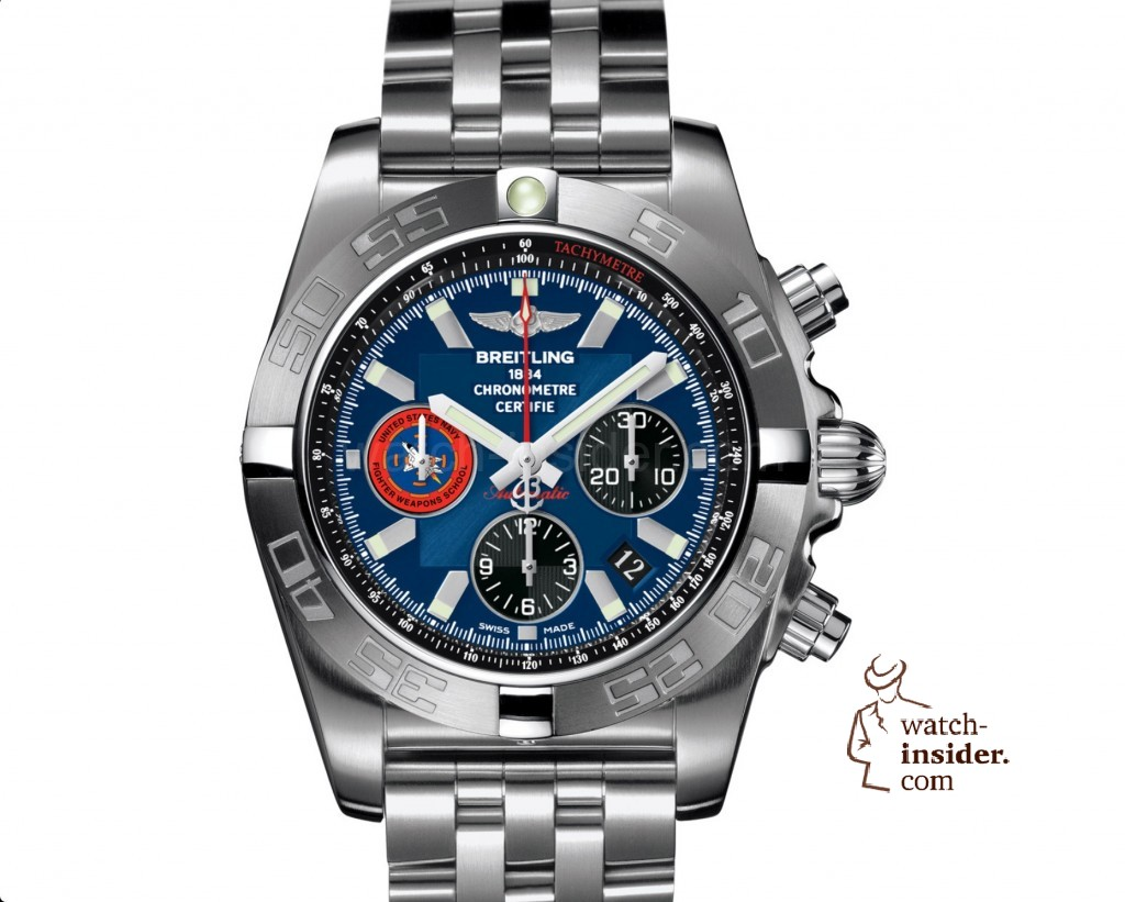 Let me ask you all a question about the Breitling United States Navy Fighter Weapons School Chronomat