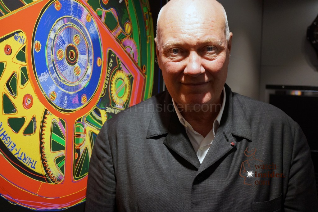 Interview and background-story: The man behind the success of Jean-Frédéric Dufour is none other than Jean-Claude Biver.