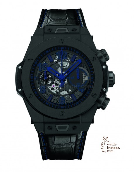 This is the boutique exclusive Hublot Big Bang Unico All Black Limited Edition