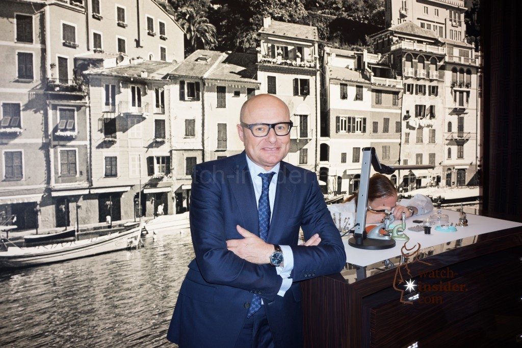 WatchesWonders 2014 in Hong Kong: Interview with IWC Schaffhausen CEO Georges Kern and presentation of the new IWC Portofino Midsize  new Portofino timepieces.