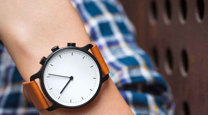This sleek smartwatch is smart enough to look nothing like a smartwatch
