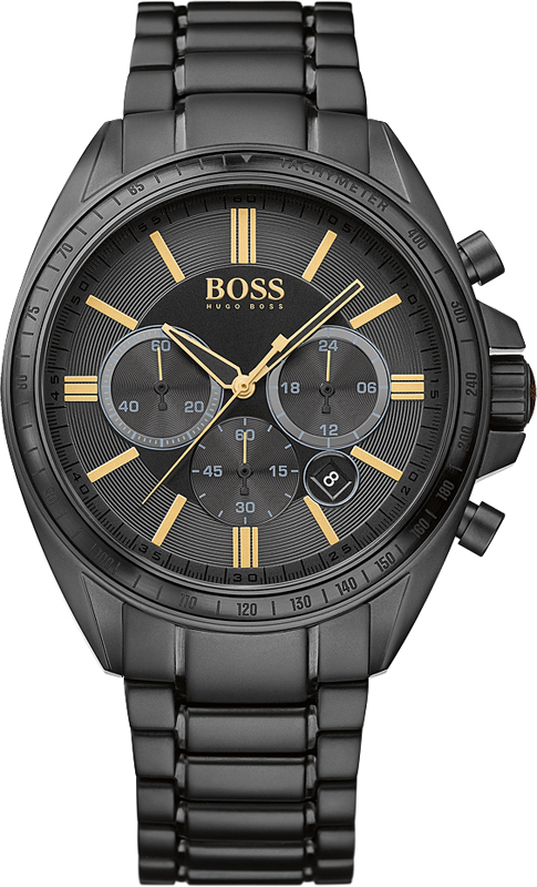 Black Hugo Boss Dress watch With Stainless Steel