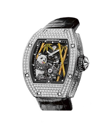 Unique Richaerd Mille Chinese Style Tourbillon Watch