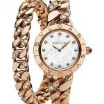 BVLGARI White Gold Diamond Ladies Watch
