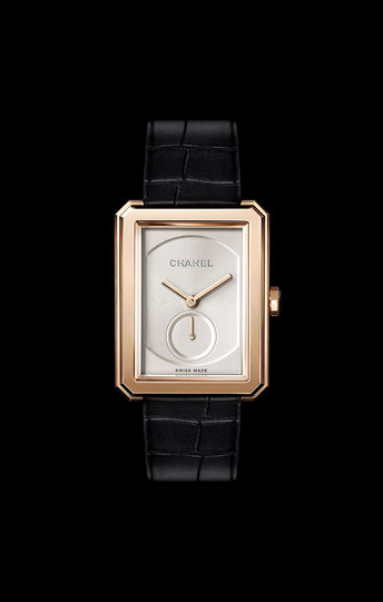 Chanel Fashion Rectangle Diamonds Watch