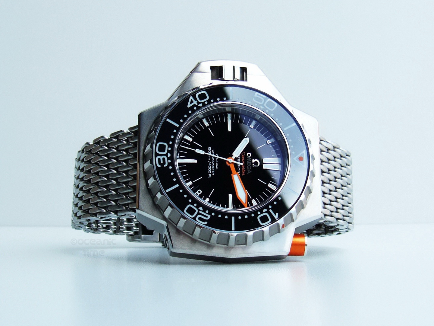 Omega vintage watch the seamaster plongeur professional - Omega dive watch ...