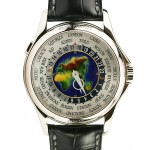 Patek Philippe World Time Watch With Enamel Dial