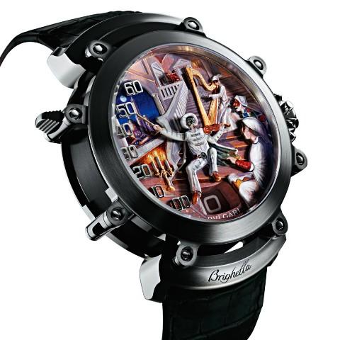 Quite Outstanding BVLGARI Retro Art Jewelry Watch