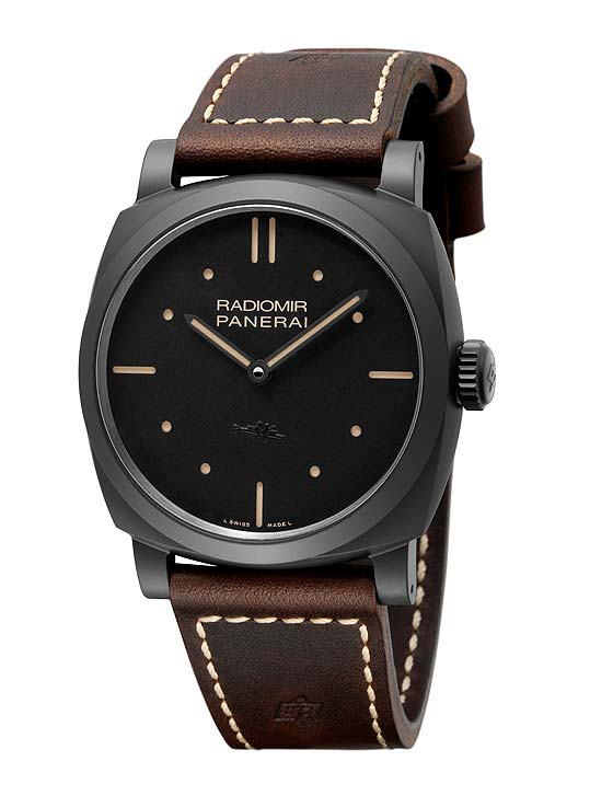 Striking Panerai Black Watch-Radiomir 1940 3 Days Ceramica