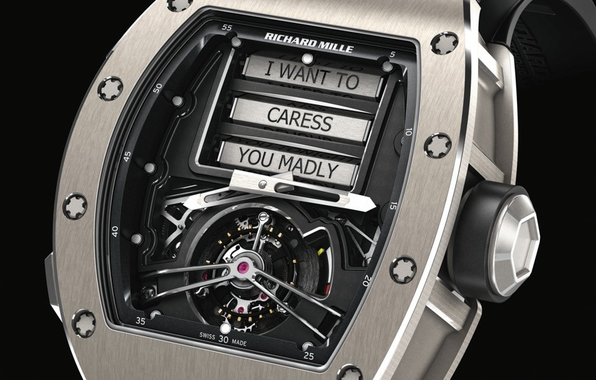 Richard Mille RM 69 Erotic Tourbillon dial 03