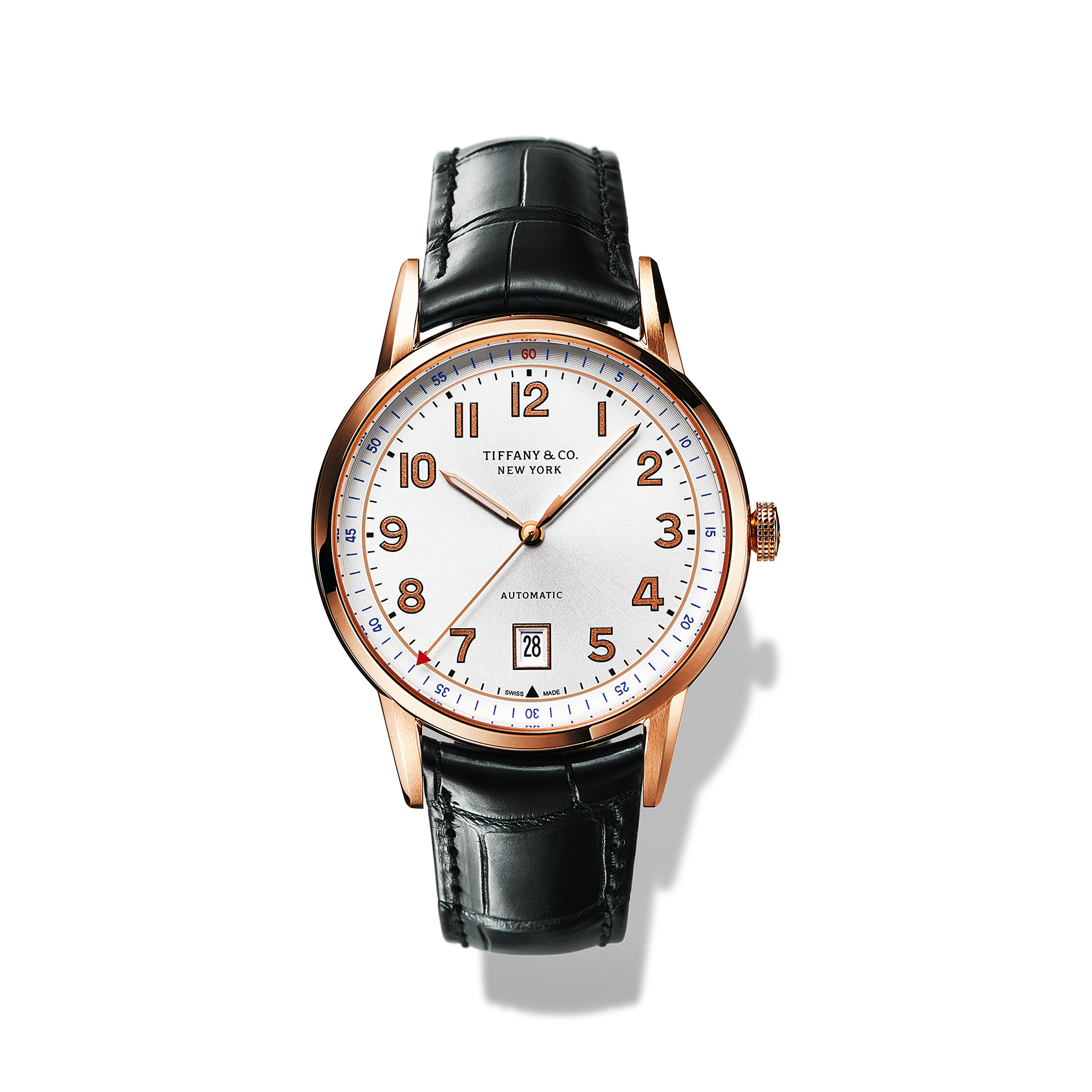Tiffany & Co. Milestone Yellow-gold Calendar Watch