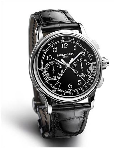 Side of Patek Philippe 5370 Split Seconds Chronograph