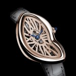 SIHH 2016-Cartier Crash Skeleton Pink Gold Limited Edition Watch