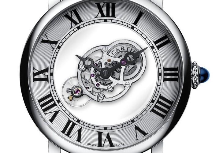 Rotonde De Cartier Astromystérieux dial