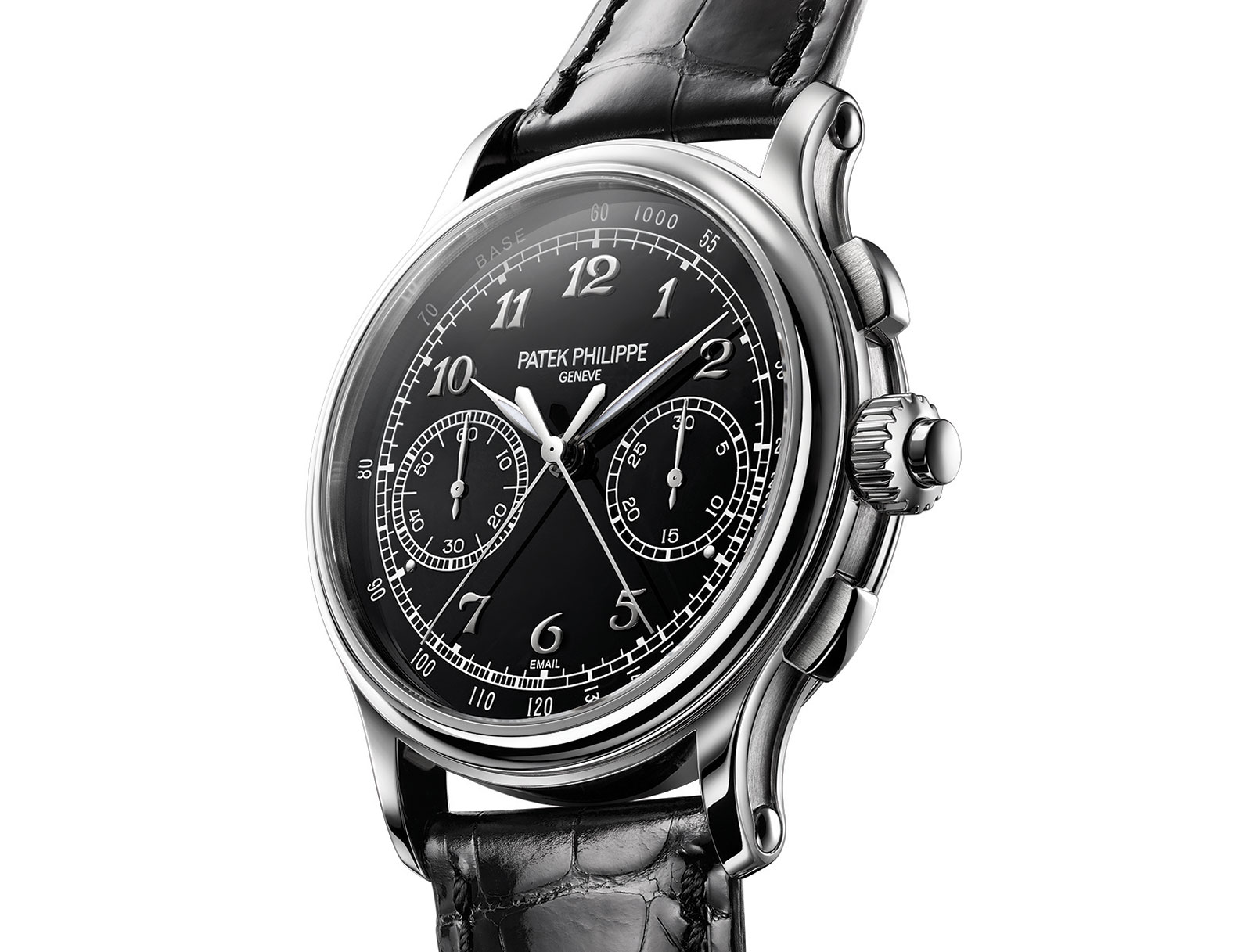 Side of Patek Philippe 5370 Split Seconds Chronograph 02