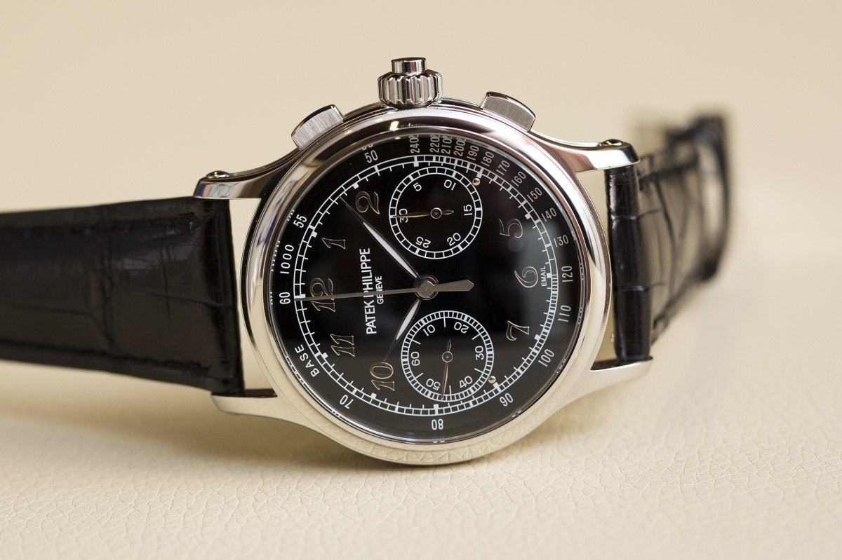 Side of Patek Philippe 5370 Split Seconds Chronograph 03