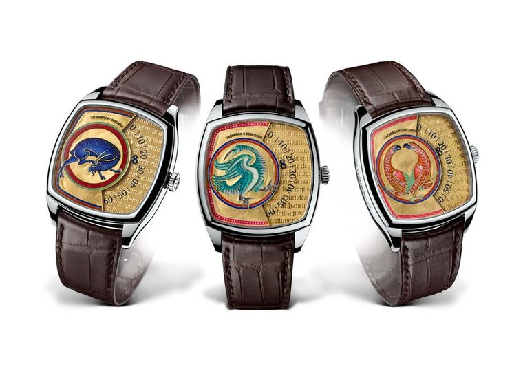 Front of Vacheron Constantin Métiers d'Art Savoirs Enluminés Watches 02